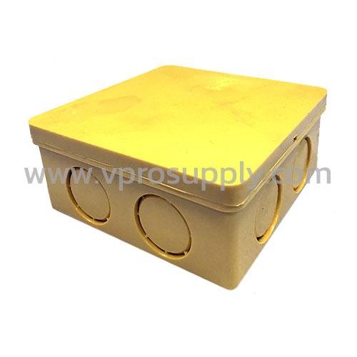 กล่องพักสายสี่เหลี่ยม 4x4