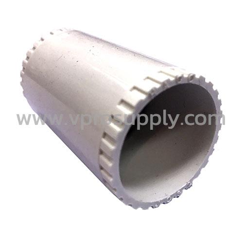 ข้อต่อตรง PVC ขาว 20 mm. JC20 ยกกล่อง