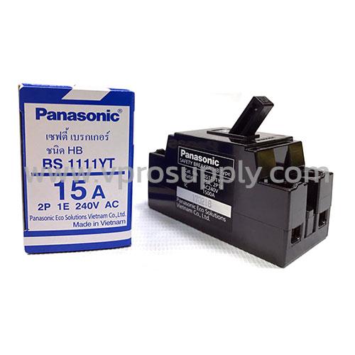เบรกเกอร์ 2P 15A - Panasonic