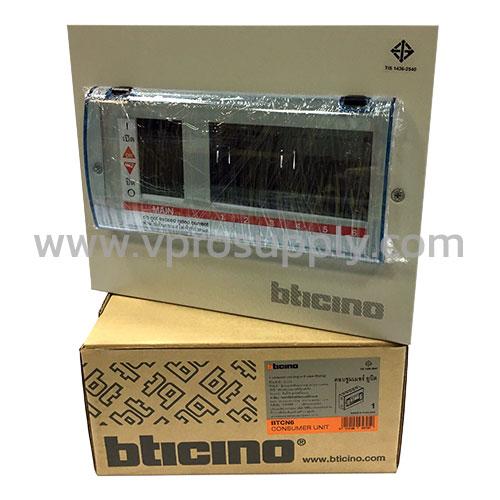 ตู้คอนซูมเมอร์ 2 สาย BTCN6  Bticino