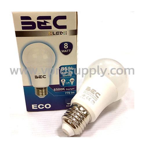 หลอด LED Bulb 8W/WW BEC