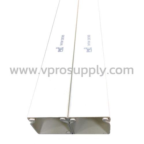 รางวายเวย์ (PVC) WW80100 สีขาว